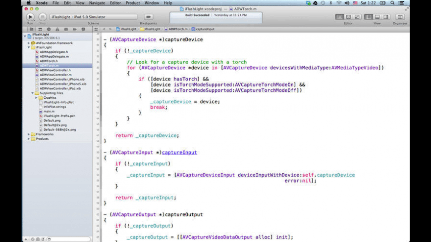 Apps Source Code for Mac - review, screenshots