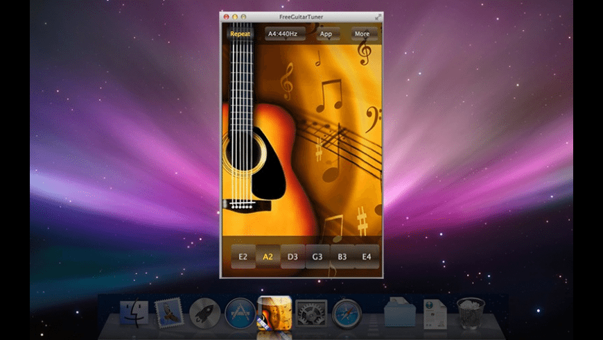 FreeGuitarTuner for Mac - review, screenshots