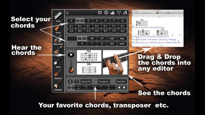 ChordsMaestroLite for Mac - review, screenshots