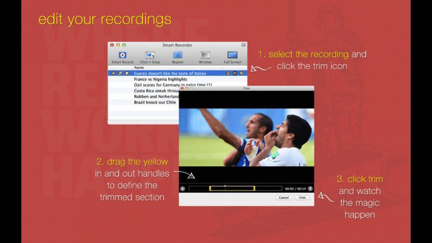 Smart Recorder for Mac - review, screenshots
