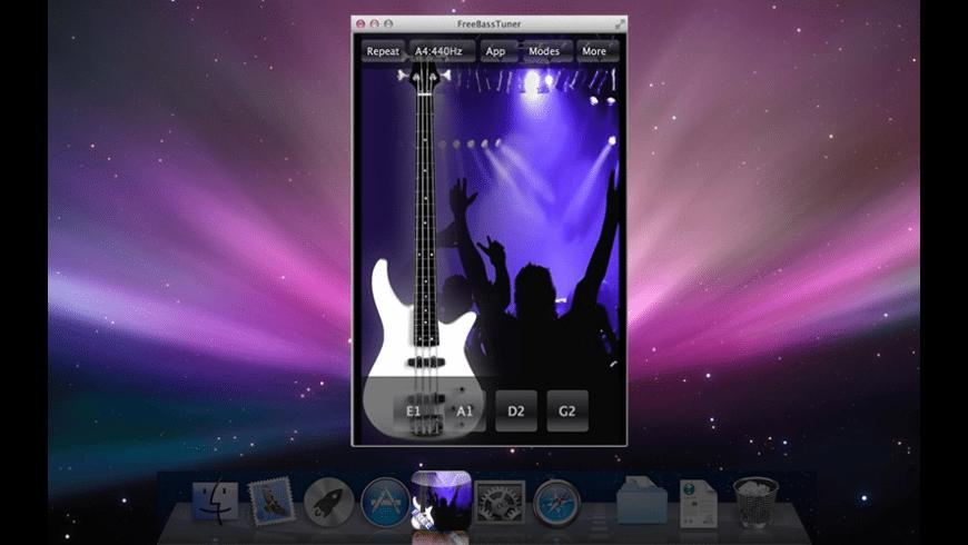 FreeBassTuner for Mac - review, screenshots
