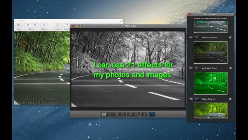 Image Effector for Mac - review, screenshots