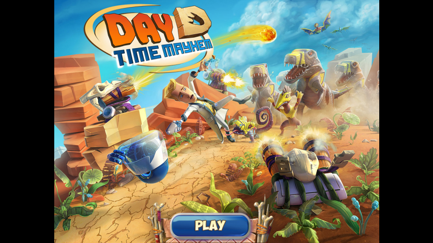DayD Time Mayhem for Mac - review, screenshots
