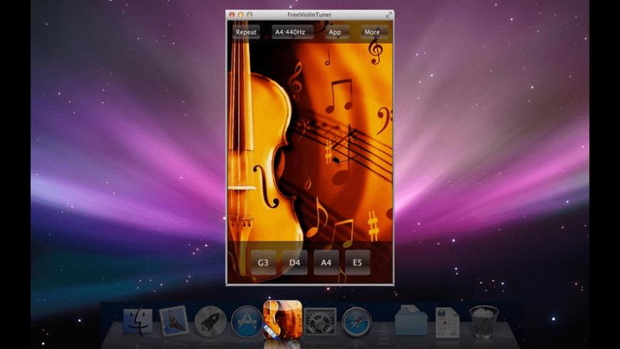 FreeViolinTuner for Mac - review, screenshots