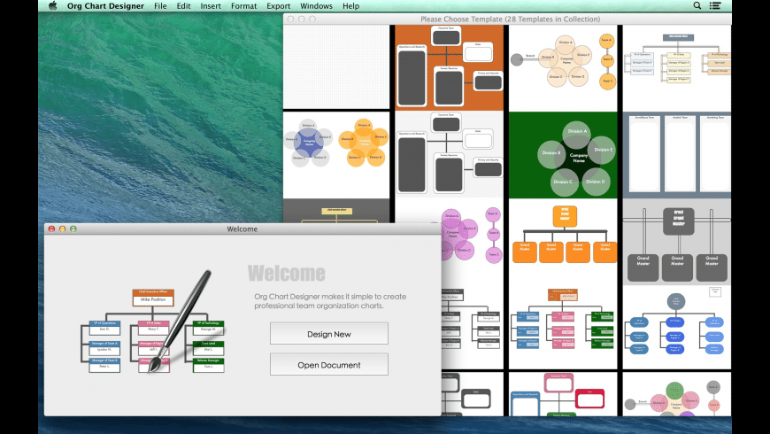 Org Chart Designer for Mac - review, screenshots