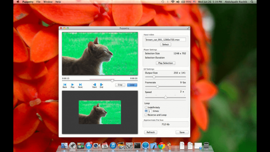 Puppetry for Mac - review, screenshots