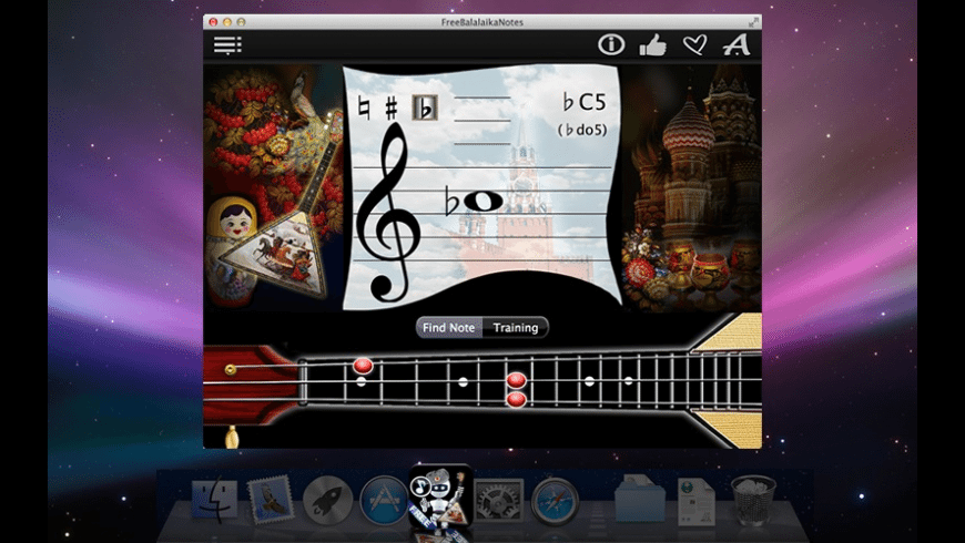 FreeBalalaikaNotes for Mac - review, screenshots