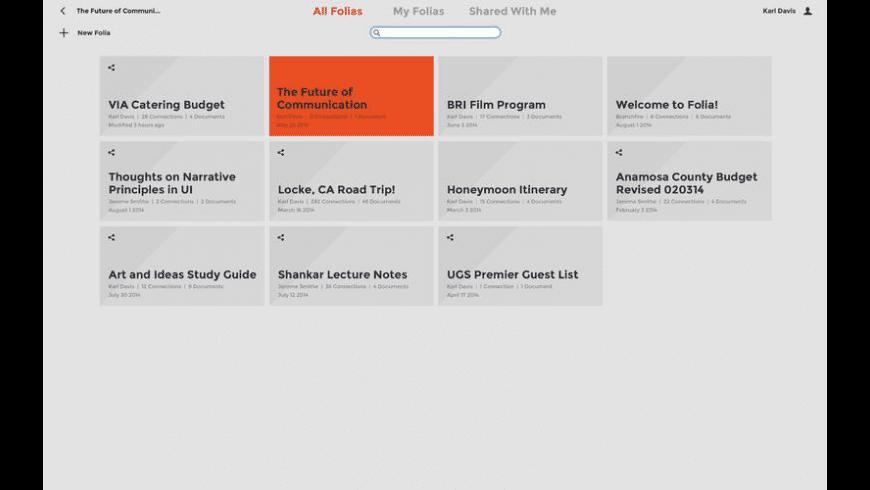 Folia for Mac - review, screenshots