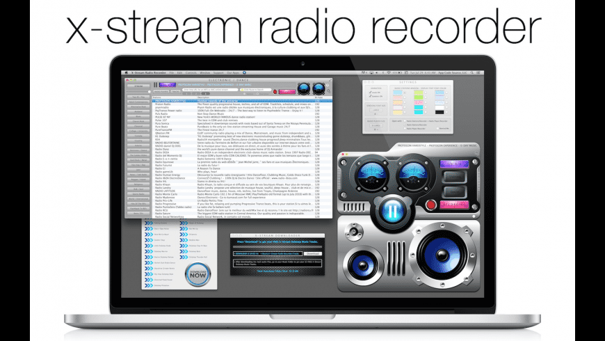 X-Stream Radio Recorder for Mac - review, screenshots
