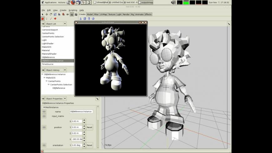 K-3D for Mac - review, screenshots