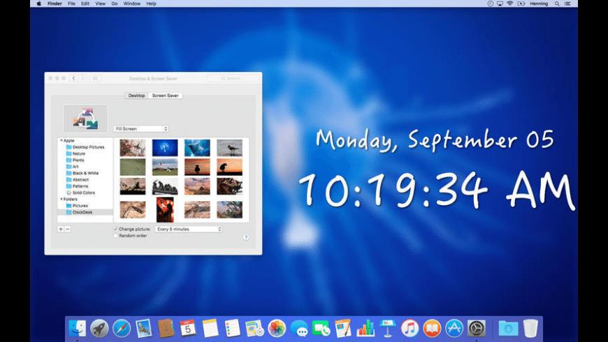 ClockDesk for Mac - review, screenshots