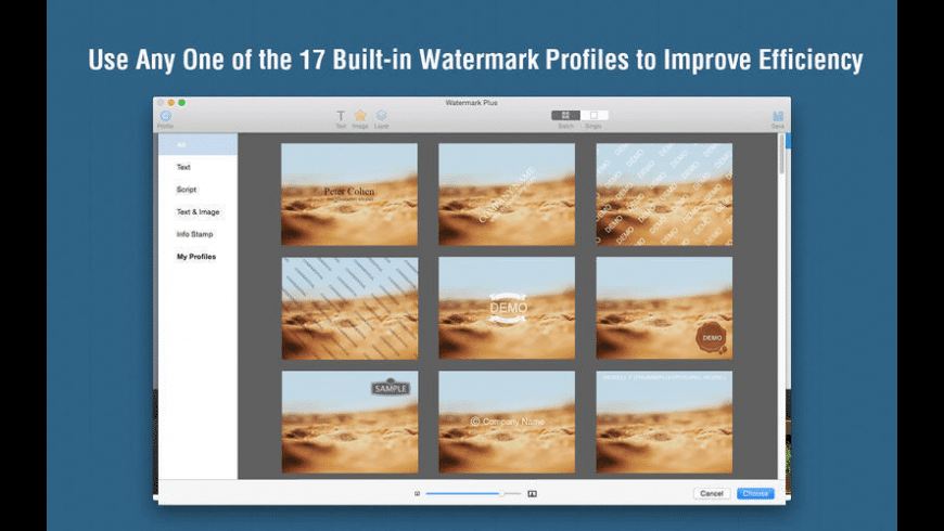 Watermark Plus for Mac - review, screenshots