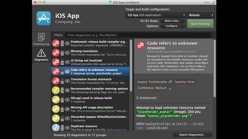 Faux Pas for Mac - review, screenshots