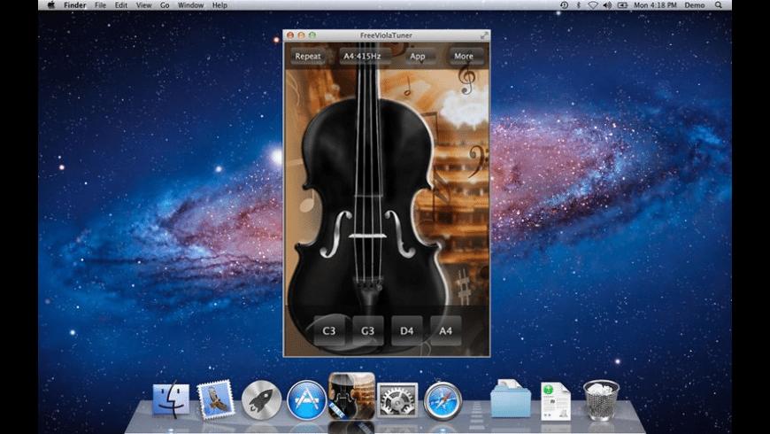 FreeViolaTuner for Mac - review, screenshots