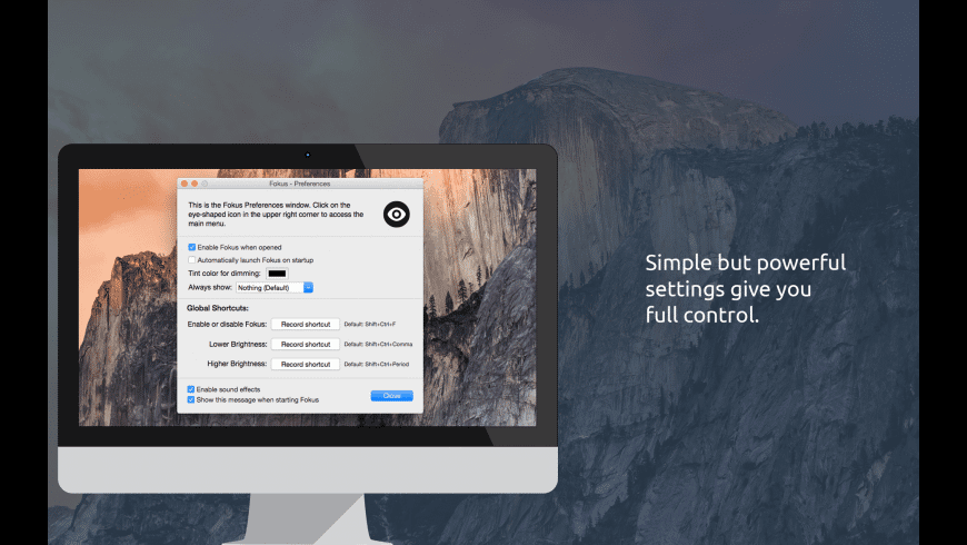 Fokus for Mac - review, screenshots