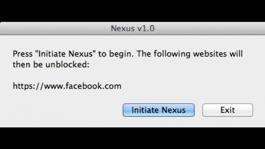 Nexus for Mac - review, screenshots
