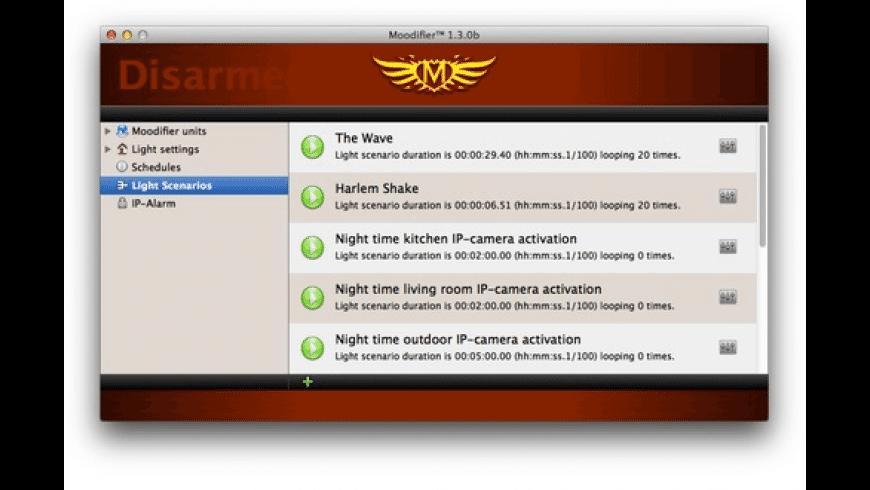 Moodifier for Mac - review, screenshots