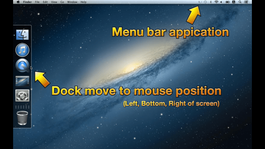 Moving Dock for Mac - review, screenshots