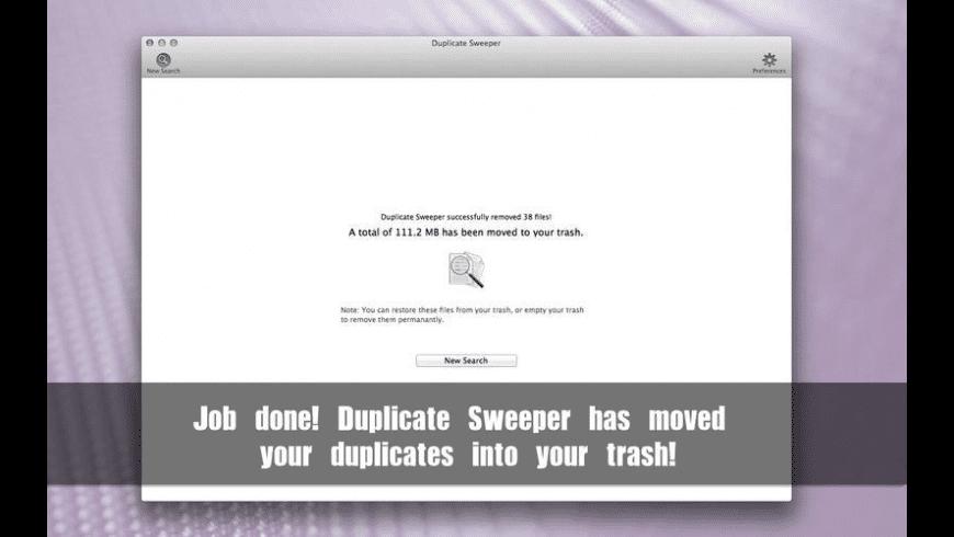 Duplicate Sweeper for Mac - review, screenshots