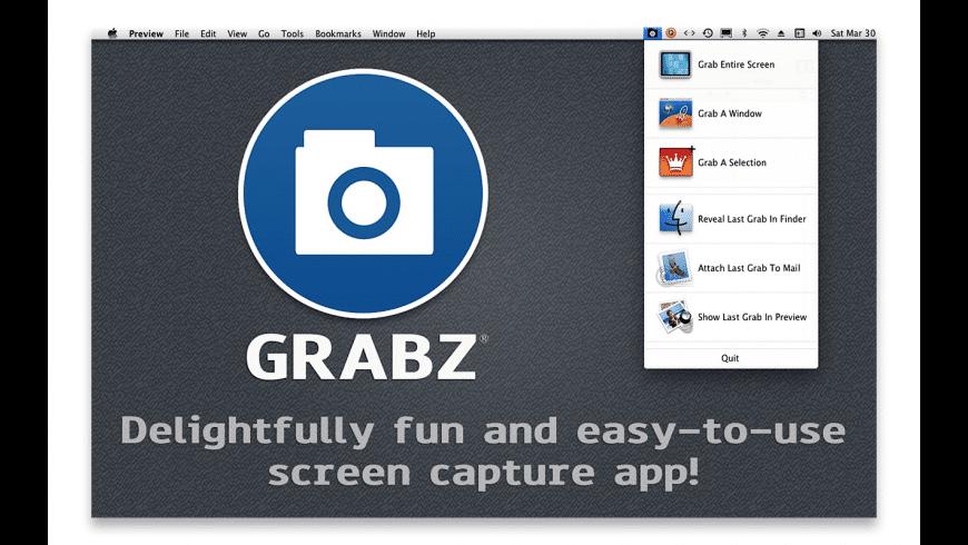 Grabz for Mac - review, screenshots