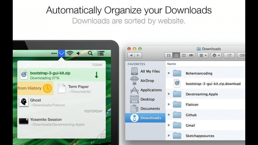Download Organizer for Mac - review, screenshots