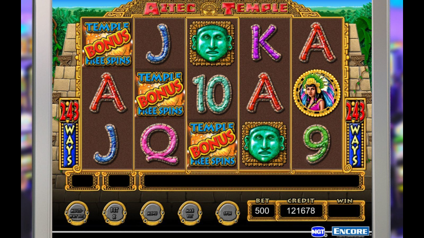 IGT Slots Aztec Temple for Mac - review, screenshots