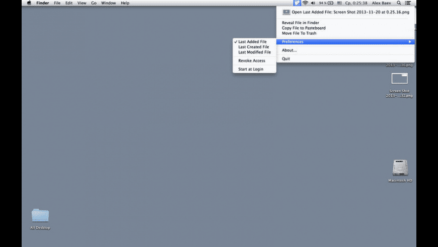 My Recent File for Mac - review, screenshots