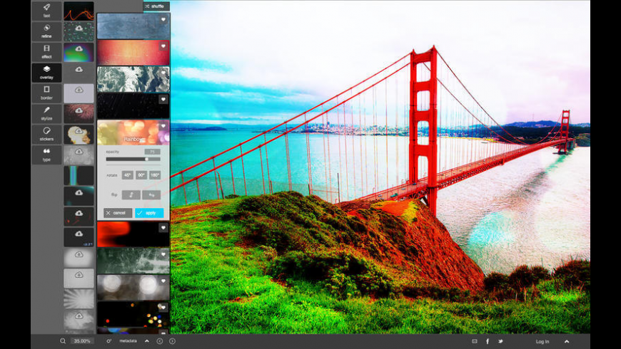 Pixlr for Mac - review, screenshots