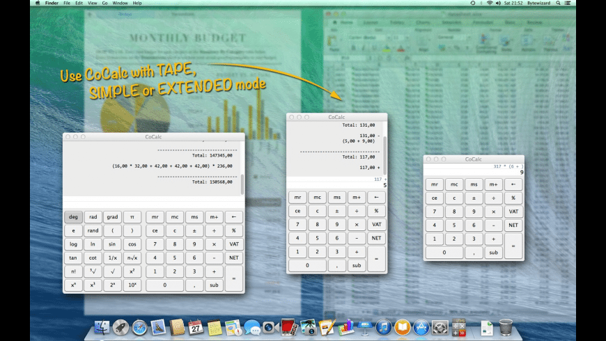 CoCalc for Mac - review, screenshots