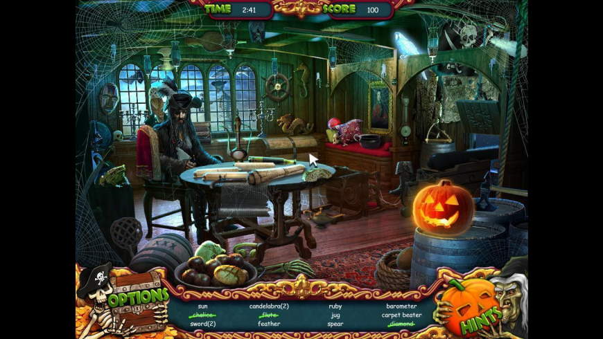 Halloween: The Pirate's Curse for Mac - review, screenshots