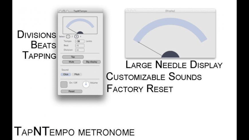 TapNTempo for Mac - review, screenshots