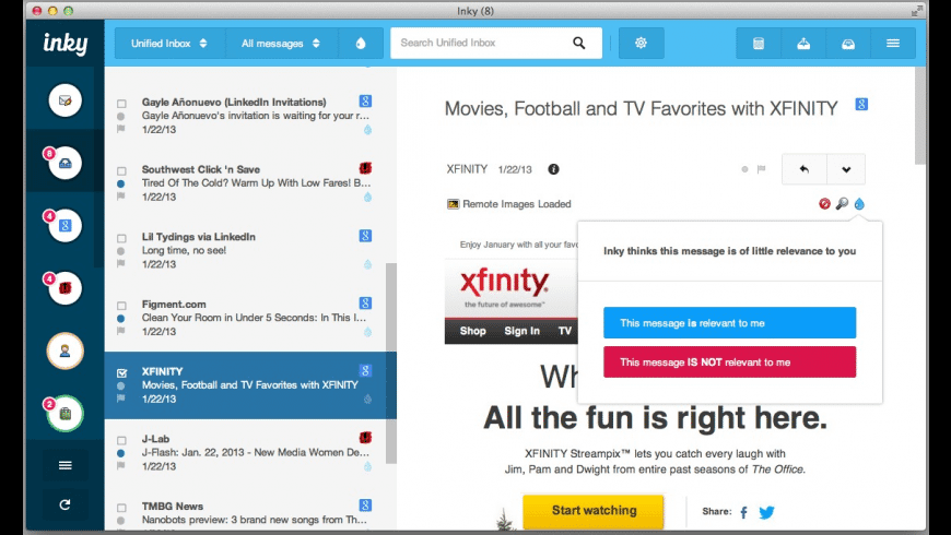 Inky for Mac - review, screenshots