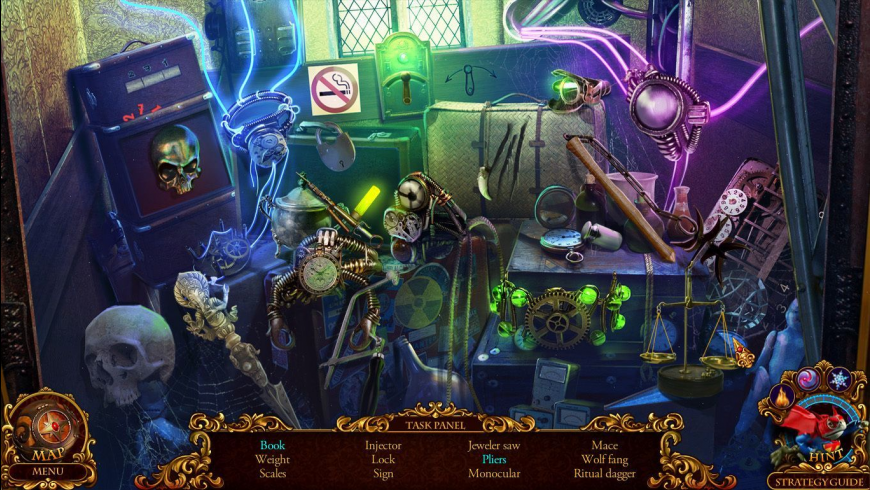Mystery Trackers: Silent Hollow CE for Mac - review, screenshots