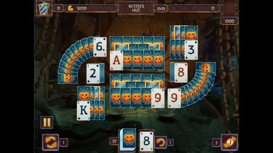 Solitaire Game Halloween for Mac - review, screenshots