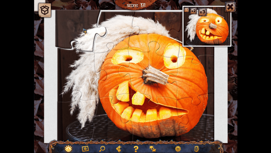 Holiday Jigsaw Halloween 2 for Mac - review, screenshots