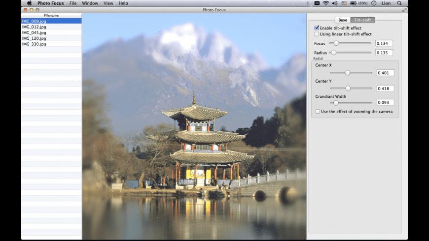 Photo Focus for Mac - review, screenshots