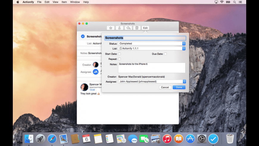 Actionify for Mac - review, screenshots