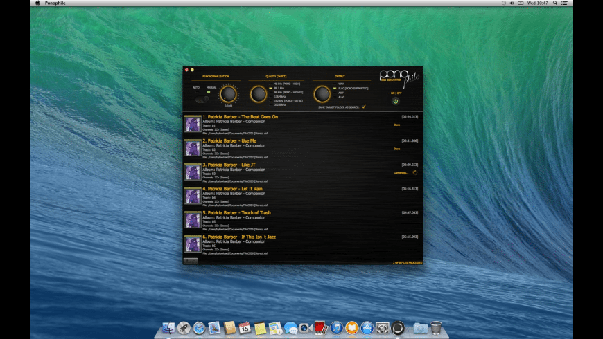 Ponophile for Mac - review, screenshots