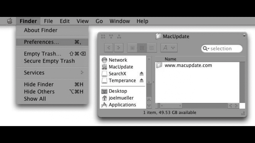 Temperance for Mac - review, screenshots