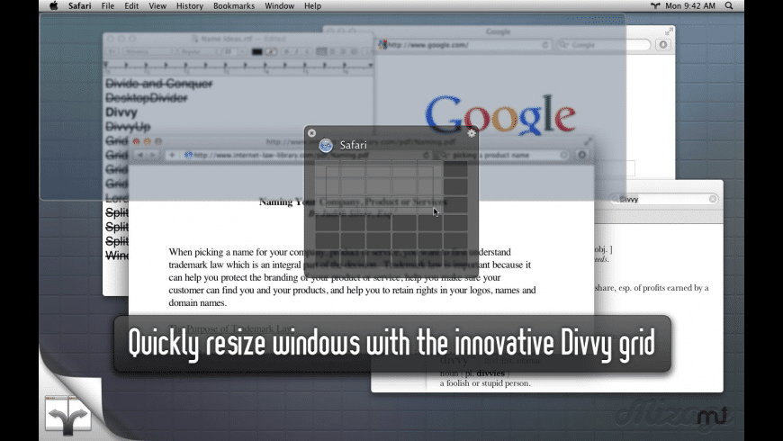 Divvy (Mac & Windows) for Mac - review, screenshots