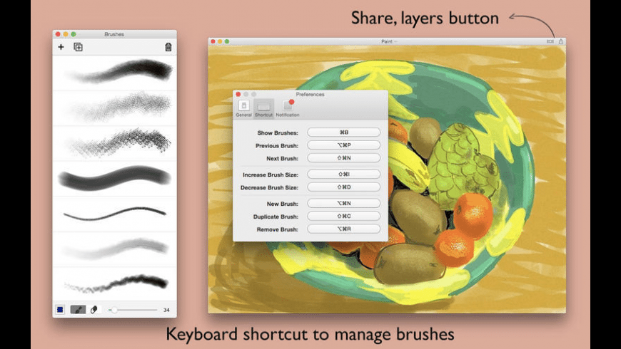 Paint for Mac - review, screenshots