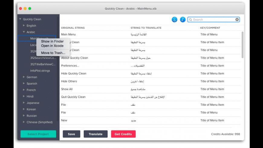 Automatic App Translator for Mac - review, screenshots