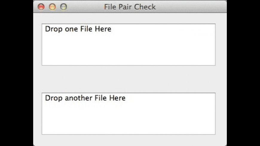 File Pair Check for Mac - review, screenshots