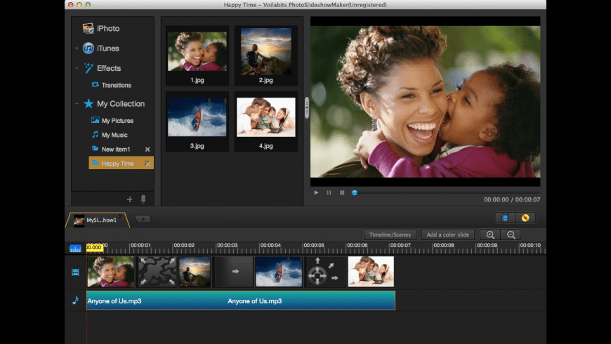 Voilabits PhotoSlideshowMaker for Mac - review, screenshots