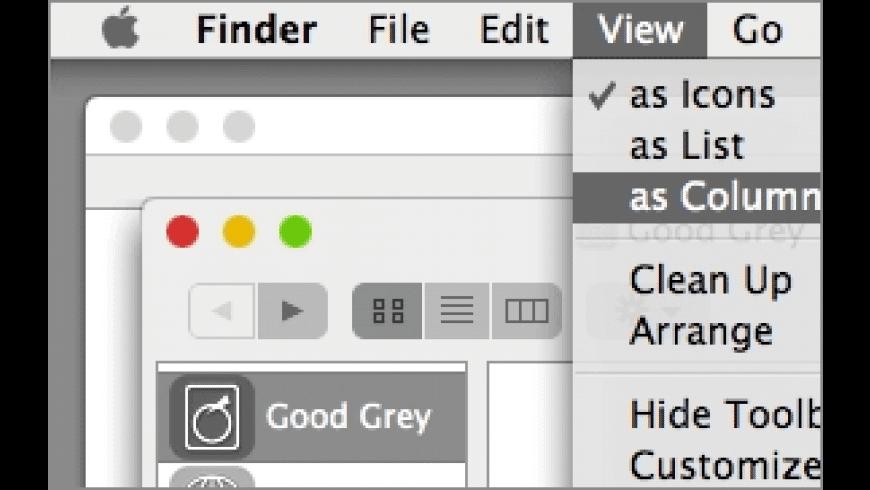Good Grey for Mac - review, screenshots
