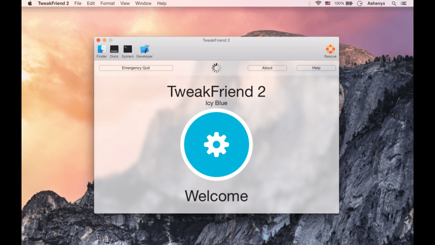 TweakFriend for Mac - review, screenshots