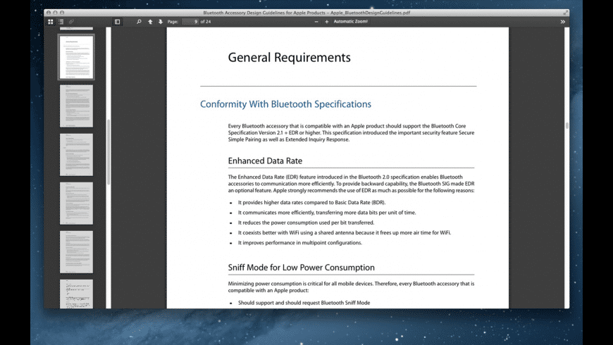 AN PDF for Mac - review, screenshots