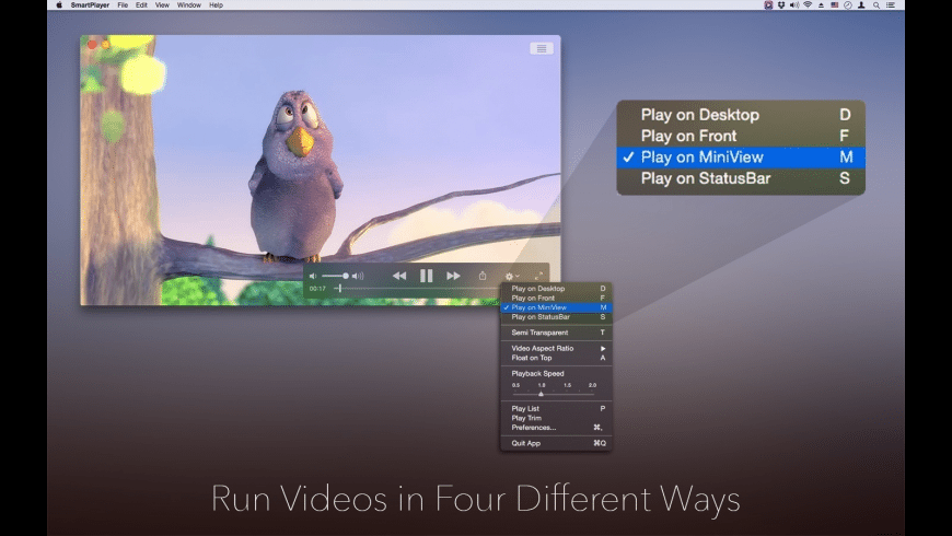 Smart Player for Mac - review, screenshots
