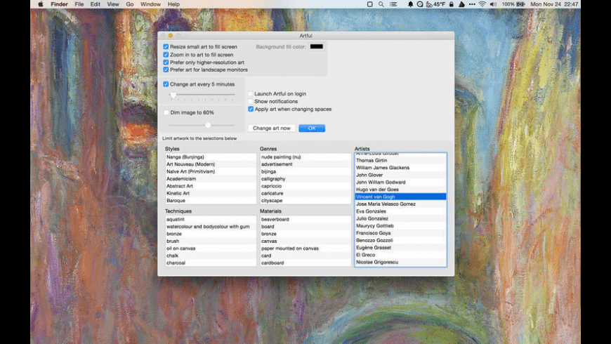 Artful for Mac - review, screenshots