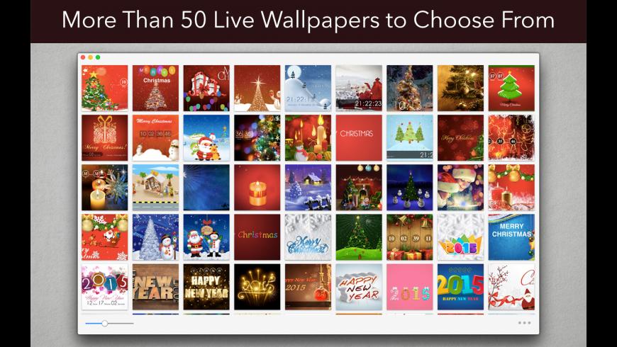 Live Wall: Holiday Season for Mac - review, screenshots
